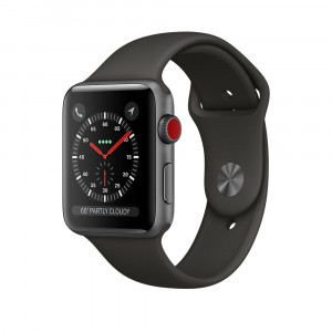 Apple Watch Series 3 Серый космос 38 мм