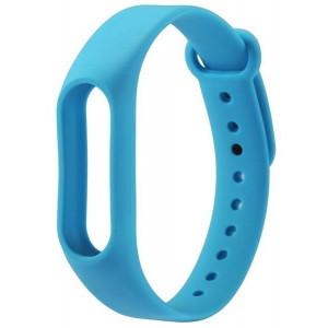 Ремешок цветной Xiaomi mi band 2 (Голубой)