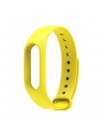 Ремешок цветной Xiaomi mi band 2 (Желтый)