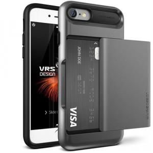 Чехол Verus Damda Glide для iPhone 7, iPhone 8 стальной (VRIP7-DGLDS)