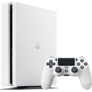 Sony PlayStation 4 slim (1 tb glacier white)