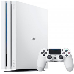 Игровая консоль Sony PlayStation 4 Pro 1TB White