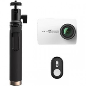 Xiaomi Yi 4k Action Camera Bluetooth Selfie Stick Kit white (Global)
