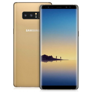 Samsung Galaxy Note 8 128GB желтый топаз