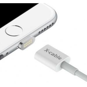 Магнитный кабель WSKEN X-cable для iPhone Lightning (Серебристый)