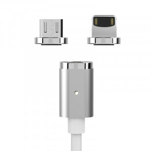 WSKEN X-cable Mini с 2 адаптерами: для iPhone и Android microUSB