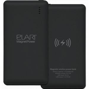 Внешний аккумулятор Elari MagnetPower 6000 мАч чёрный