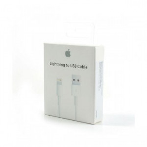 Кабель Apple Lightning white