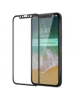 Защитное стекло HARDIZ 3D Cover Premium Glass для iPhone X чёрное