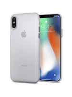 Чехол Spigen Case Air Skin для iPhone X прозрачный матовый (057CS22115)