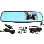 Зеркало-Видеорегистратор Vehicle Blackbox DVR FULL HD с 2-мя камерами