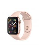 """Apple Watch Series 4 GPS 44 мм, золотистый корпус, ремешок цвета """"розовый песок"""""""