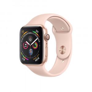 """Apple Watch Series 4 GPS 40 мм, золотистый корпус, ремешок цвета """"розовый песок"""""""