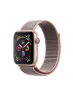 """Apple Watch Series 4 GPS 44 мм, золотистый корпус, браслет цвета """"розовый песок"""""""