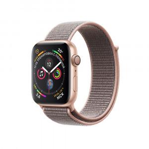 """Apple Watch Series 4 GPS 40 мм, золотистый корпус, браслет цвета """"розовый песок"""""""