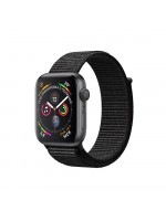 "Apple Watch Series 4 GPS 40 мм, корпус цвета ""серый космос"", чёрный браслет"