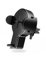 Автодержатель Rock с функцией беcпроводной зарядки W2 Car Wireless Charging Stand — черный