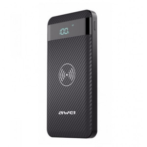 Awei P55K Wireless Charger 10000 (Черный)