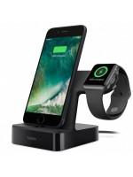 Док-станция Belkin PowerHouse Charge Dock для Apple Watch + iPhone чёрная