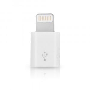 Адаптер-переходник Solomon X-Change Series Lightning 8-pin - micro USB белый