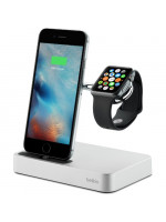 Док-станция Belkin Valet Charge Dock for Apple Watch + iPhone серебристая