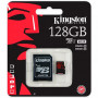Карта памяти MicroSD 128GB Kingston 10 CLASS