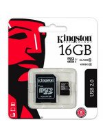 Карта памяти MicroSD 16GB Kingston 10 CLASS