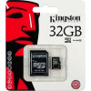 Карта памяти MicroSD 32GB Kingston 10 CLASS
