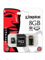 Карта памяти MicroSD 8GB Kingston 10 CLASS