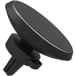 Автомобильный магнитный держатель с беспроводной зарядкой QI Wireless iTap - Черный