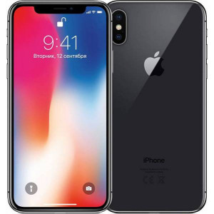 APPLE iPhone X 64GB grey